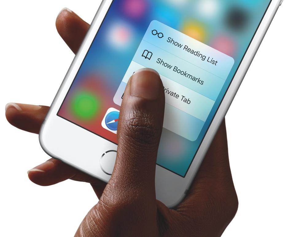 iPhone 6S met 3D touch