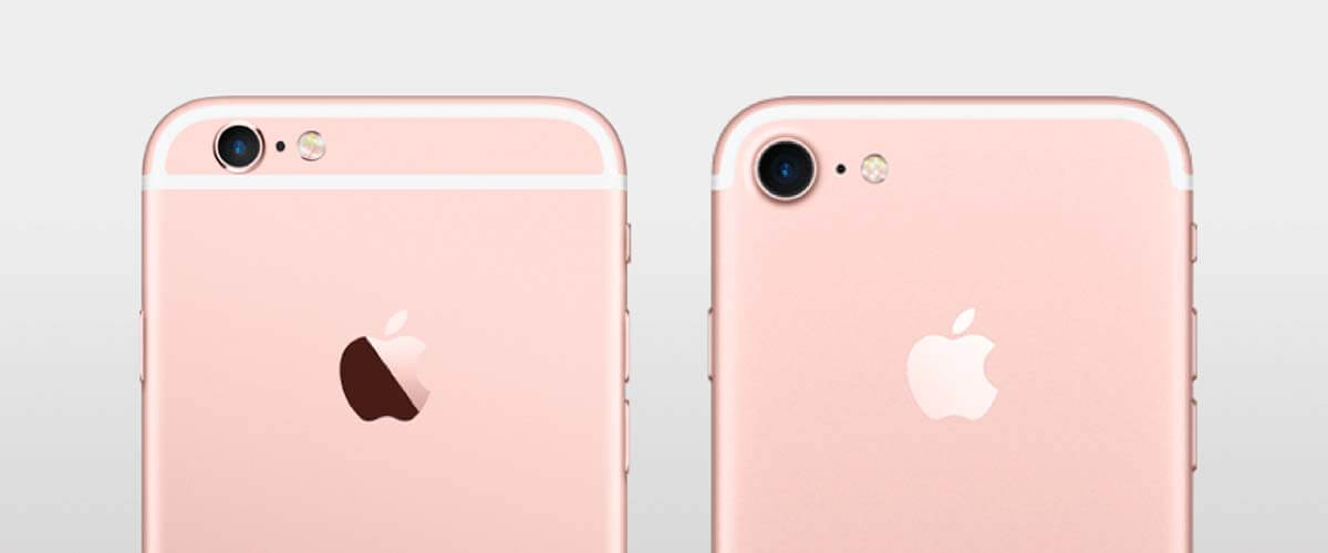 Camera's iPhone 6S en iPhone 7