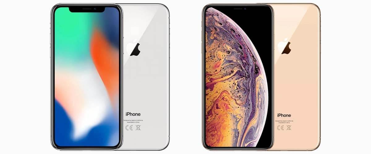 iPhone X en iPhone XS