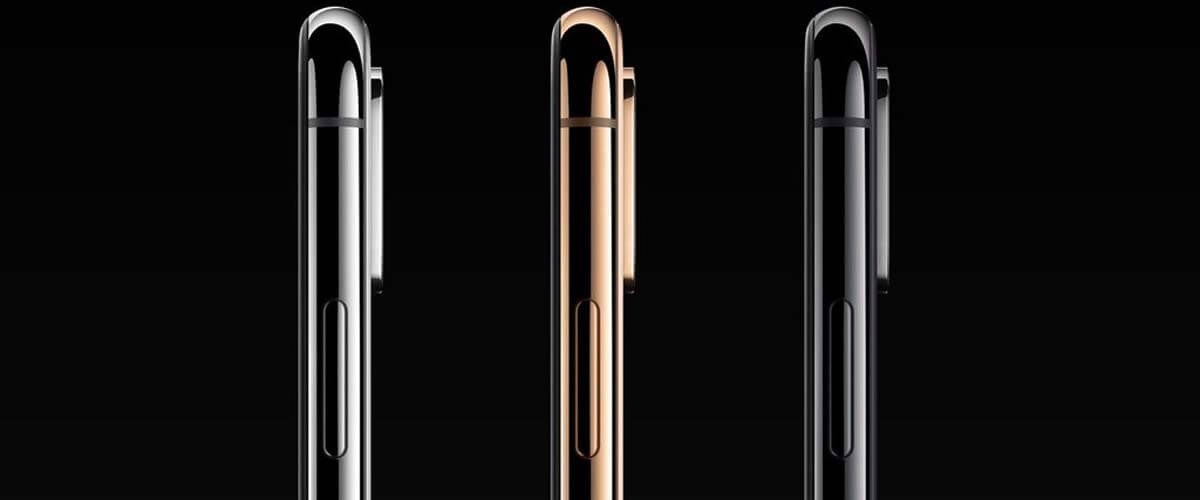iPhone XS Silver, Gold en Space Grey