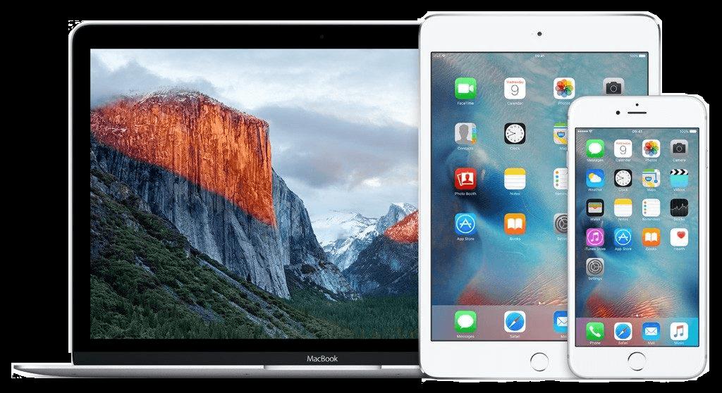 refurbished MacBook, iPhone en iPad