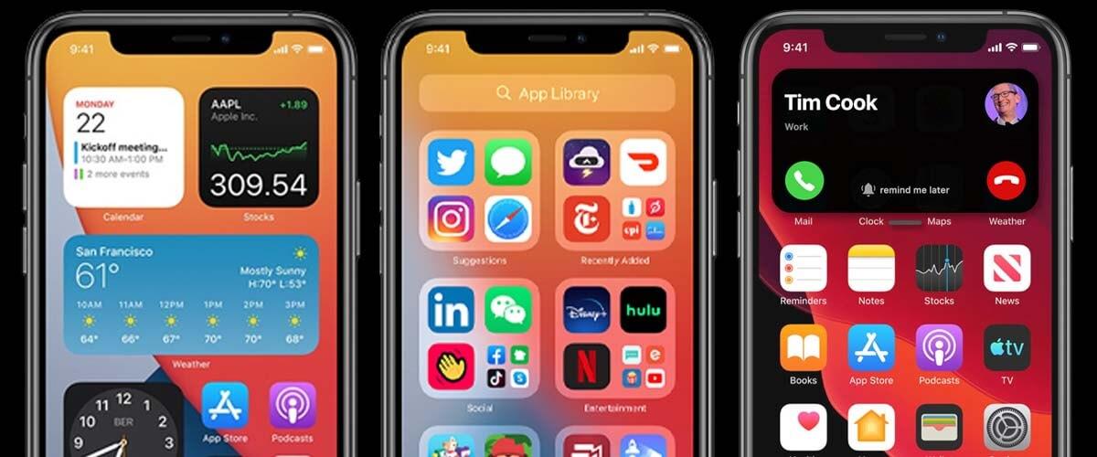 Nieuwe functies iOS 14