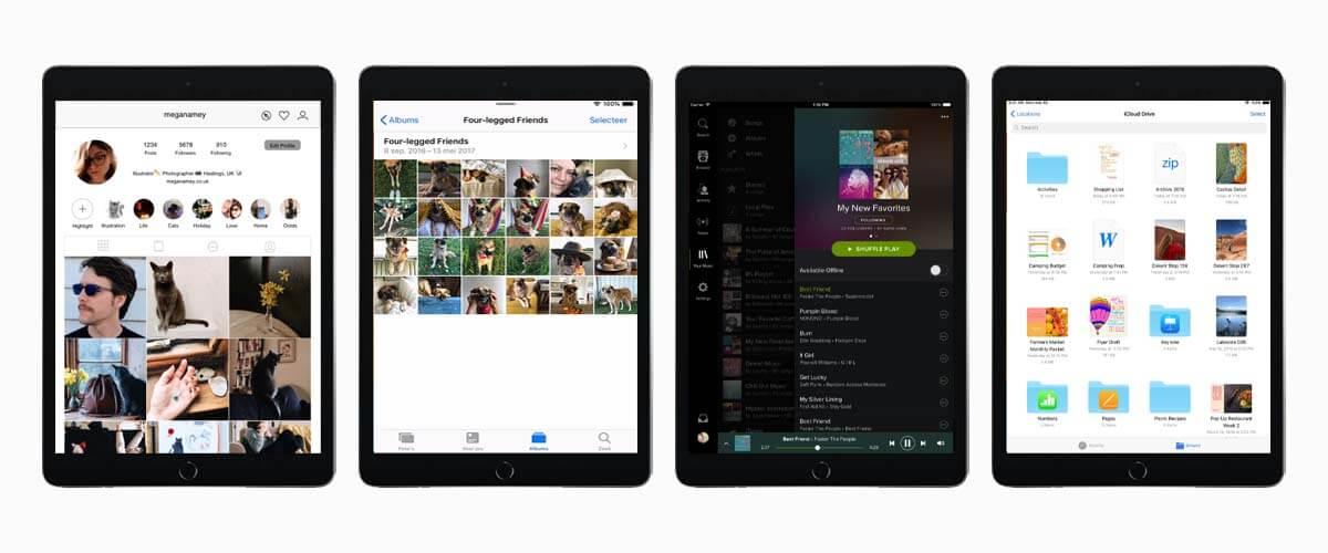Opslagcapaciteit iPad