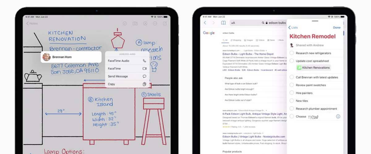 Scribble en Apple Pencil in iPadOS 14