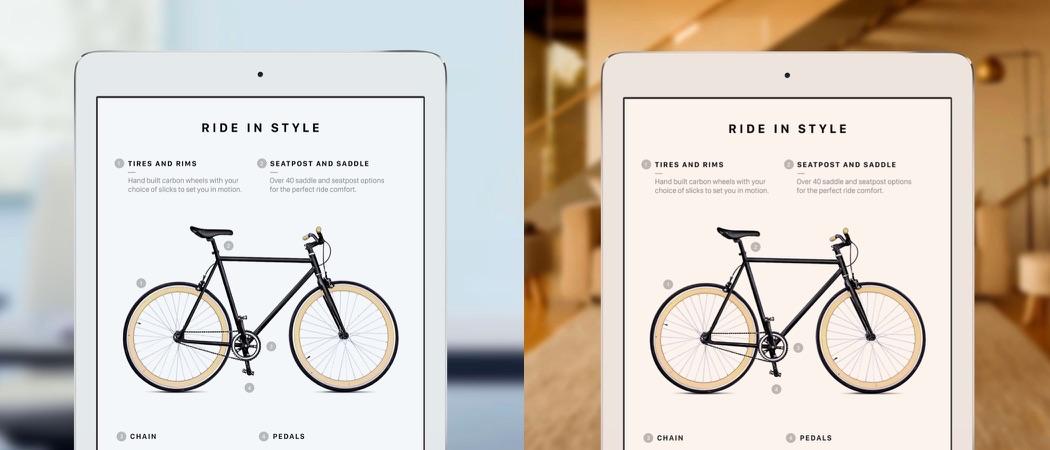 True Tone bij de iPad Pro